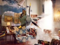 """Tweedland"" The Gentlemen's club: Tim Walker ... Englishness ... Nostalgia ... Surrealism ... Romanticism ... Visions ..."