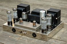 Dynaco ST 70: this was the first, best, High Fidelity Tube Gear for many budding Audiophiles. A modern knock-off is still made today.......and is still a bargain!