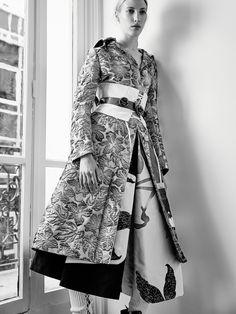 Smile: Chiara Mazzolleni in Harper's Bazaar Kazakhstan November 2016 by Fedor Bitkov