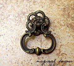 Antique Fancy Brass Door Knocker Pull