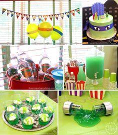 The Scrap Shoppe: Teenage Mutant Ninja Turtle (TMNT) Birthday Party