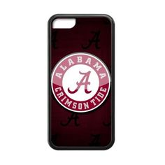 Generic Custom Extraordinary Best Design NCAA Alabama Crimson Tide Team Logo Plastic and TPU Black and White Case Cover for iphone 5c. Made from durable plastic,the Back is made from plastic,the other 4 sides are made from TPU. Lightweight design,convenient to carry. Nice colorful border giving your device stylish protection. Protects your phone from external scratches and shocks or dirt. Customize with photos,artwork and text.