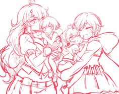 RWBY - Meeting own's past I tried to finish this but I really couldn't because of the recent chapter…