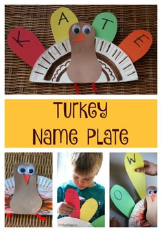Call this turkeyCall this turkeyWrite paint bagThanksgiving Crafts - Bing Images With Color Chips !Color matching & fine motor skills Turkey activity for toddlersColor Matching Fine Motor Turkey - A simple activity that promotes color Turkey Crafts For Preschool, Preschool Names, Name Activities, Activities For Kids, Preschool Letters, Preschool Classroom, Holiday Activities, Learning Activities, Thanksgiving Signs