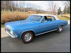 1966 Chevrolet Chevelle SS Convertible 396 CI, Automatic