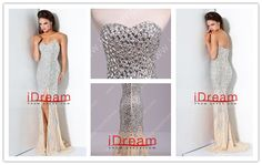 Brilliant And Sexy Sweetheart Sweep Train Beading Chiffon Evening Dresses