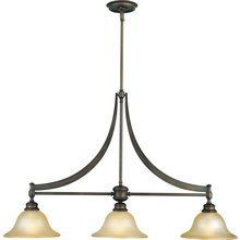 Lighting over the island    Murray Feiss MF F1923%2F3 Wrought Iron Island %2F Billiard Fixture from the Pub Collection at LightingDirect.com.