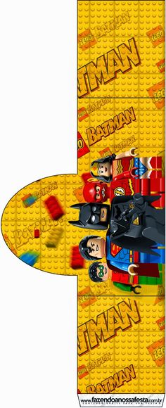 Lego Movie: Free Printable Candy Bar Labels. Fiesta Batman Lego, Batman Em Lego, Lego Batman Party, Superhero Party, Lego Movie Birthday, Lego Movie Party, Batman Birthday, Lego Pinata, Movie Theater Party
