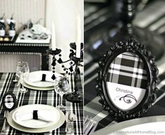 56 trendy Ideas for birthday dinner party themes table settings black white Casino Night Party, Casino Theme Parties, New Year Table, Black White Parties, Birthday Dinners, Birthday Recipes, Birthday Ideas, Event Planning Template, Birthday Presents For Mom