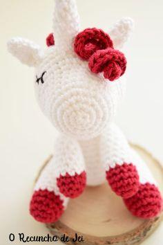 Paso a paso amigurumi Unicornio a crochet (ganchillo) - Crochet Unicorn amigurumi step by step Crochet Unicorn Pattern, Crochet Amigurumi Free Patterns, Crochet Baby Hats, Cute Crochet, Crochet Toys, Crochet Animals, Crochet Case, Quilting For Beginners, Fabric Dolls