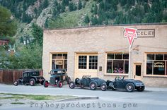 2014 Hot Rod Hill Climb coverage from Georgetown, CO. THE BEST collection of vintage speed parts on running cars I've ever seen!
