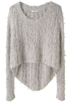 in the style of you        HELMUT LANG /  ANGORA FLOATS PULLOVER