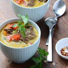 Instant Pot Beef Bourguignon - Recipe Girl Chicken Curry Salad, Chicken Salad Recipes, Soup Recipes, Yummy Recipes, Healthy Recipes, Korma, Biryani, Instant Pot Beef Bourguignon Recipe, Tagliatelle