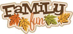 ocean fun svg | Family Fun SVG scrapbook title fall avg cut file autumn svg files for ...