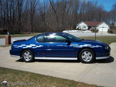 Image Detail For Photo Of A 2003 Chevrolet Monte Carlo Ss Pace Car Rebel