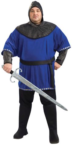 f6b30e42c9a9 Image detail for -Renaissance Man Medieval Knight Costume - Screamers  Costumes