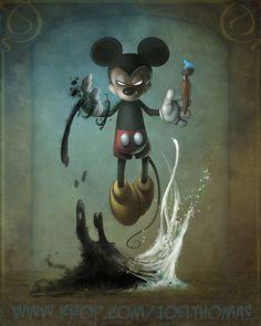 Mickey is kinda...