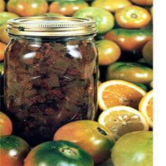 Learn how to make this green tomato mincemeat, includes a recipe for green tomato mincemeat and ideas for using up your green tomatoes in dishes.data-pin-do=