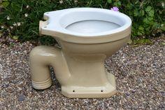 """Sharlin"" - Vintage 1930s Stoneware High Level Toilet – DragonQuarry Antiques & Restoration"