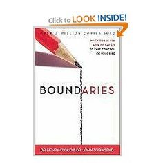 Dr. Henry Cloud and Dr. John Townsend offer a biblically-based perspective on physical, mental, emotional, and spiritual boundaries, answering tough questions and showing us how to set healthy boundaries with our parents, spouses, children, friends, co-workers, and even ourselves.