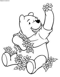 Mejores 105 Imagenes De Winnie The Pooh Para Colorear En Pinterest