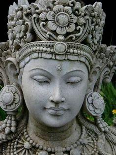 Face Of the Lord - Serenity. Buddha Painting, Buddha Art, Arte Ganesha, Indiana, Art Du Monde, Buddha Sculpture, Hindu Art, Religious Art, Ancient Art