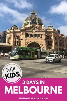 3 Days in Melbourne Itinerary. Our 3 days Melbourne Itinerary gives you all the best things to do in Melbourne for a short vacation. From visiting Melbourne's top tourist attractions to some of the must do activities, add this to your Melbourne travel plans. #Australiatravel #familytravel #travelwithkids #worldtravel