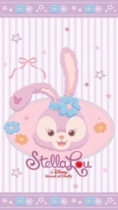 Cute Pastel Wallpaper, Sanrio Wallpaper, Disney Phone Wallpaper, Bear Wallpaper, Kawaii Wallpaper, Wallpaper Iphone Cute, Cartoon Wallpaper, Duffy The Disney Bear, Disney Love