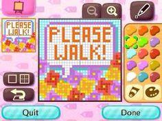 Please walk tutorial