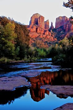Cathedral Rock ~   The Sedona Vortex that Balances the Feminine Energy.     The…