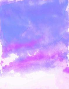 Acquarello clouds