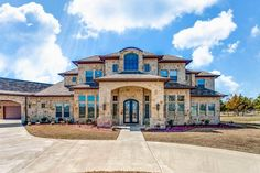 Grand Hill Country House Plan - 36548TX | Architectural Designs - House Plans