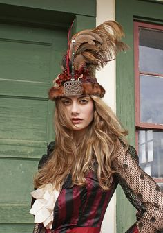 Boudoir Queen Headdress Couture by BoudoirQueen on Etsy, $275.00