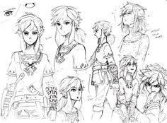 The Legend of Zelda Wii U / Link / 「ゼル伝絵詰め2」/「秋楽」の漫画 [pixiv]