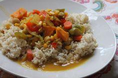 Crockpot Veggie Curry