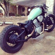 Honda Shadow 600 | Bobber Inspiration - Bobbers and Custom Motorcycles December 2014