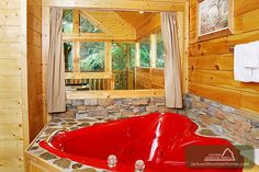 Sparkling Waters - This charming log cabin has all you need to enjoy a great Smoky Mountain vacation.