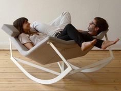 Two person lounger/rocker