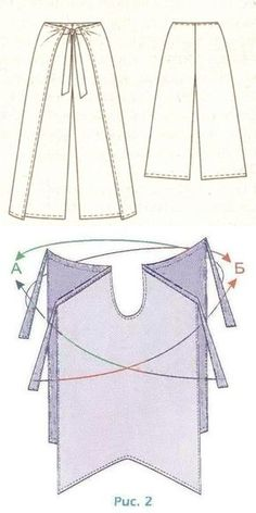 And you have summer trousers without lateral seams? // djmaka Жмака