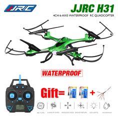 방수 드론 JJR/C H31 카메라 또는 2MP 카메라 와이파이 fpv 카메라 헤드리스 모드 rc 쿼드 콥터 헬리콥터 vs syma x5hw x5sw