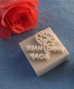 Resin Seal Soap Stamp  For Handmade Soap Candle by mooncakeshop, $4.45