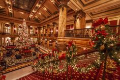 The Jefferson Hotel Grand Holiday Staircase