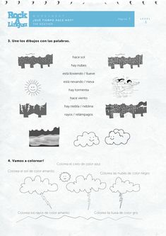 Weather | Worksheet | Rockalingua