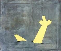 Walter Swennen Walter Swennen Ohne Titel, 2009 Öl auf Leinwand 50 x 60 cm  © Privatsammlung, Courtesy Nicolas Krupp, Basel