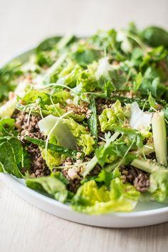 Knasende sprød salat med masser af smag