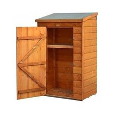 Wood Storage Shed Outdoor Small Shelf Weatherproof Yard Garden Tools Backyard