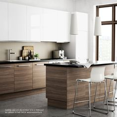 Best A Mid Century Modern Ikea Kitchen For A Gorgeous Light 640 x 480