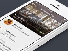 Dribbble - (GIF) Menu Transition by Chris Arvin #UImotion