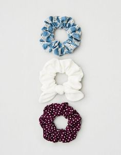 Shop Scrunchies & Hair Ties at American Eagle to find the right accessories for your day! Browse scrunchies and hair ties in new colors and designs today! Scrunchies, Cute Headphones, Arm Bracelets, Hair Supplies, Mini Hoop Earrings, Hair Accessories For Women, Top Gifts, Mens Outfitters, Hair Ties