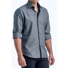 Mens Fitted Casual Button Down Shirts | Is Shirt